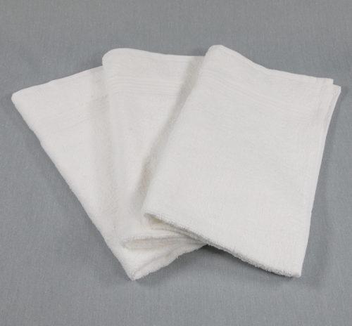 16x27 Premium White Hand Towel