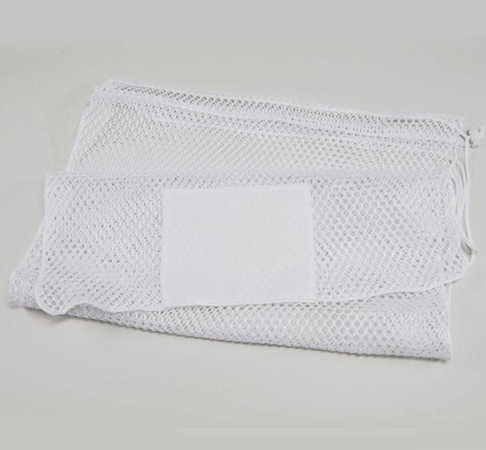20x30 Mesh Bags Drawcord White