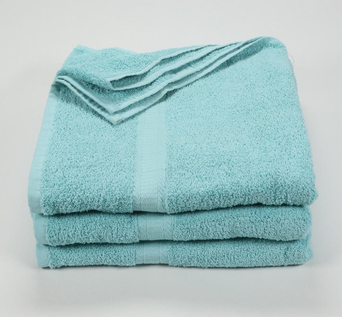 27x52 Color Towel Aqua Blue