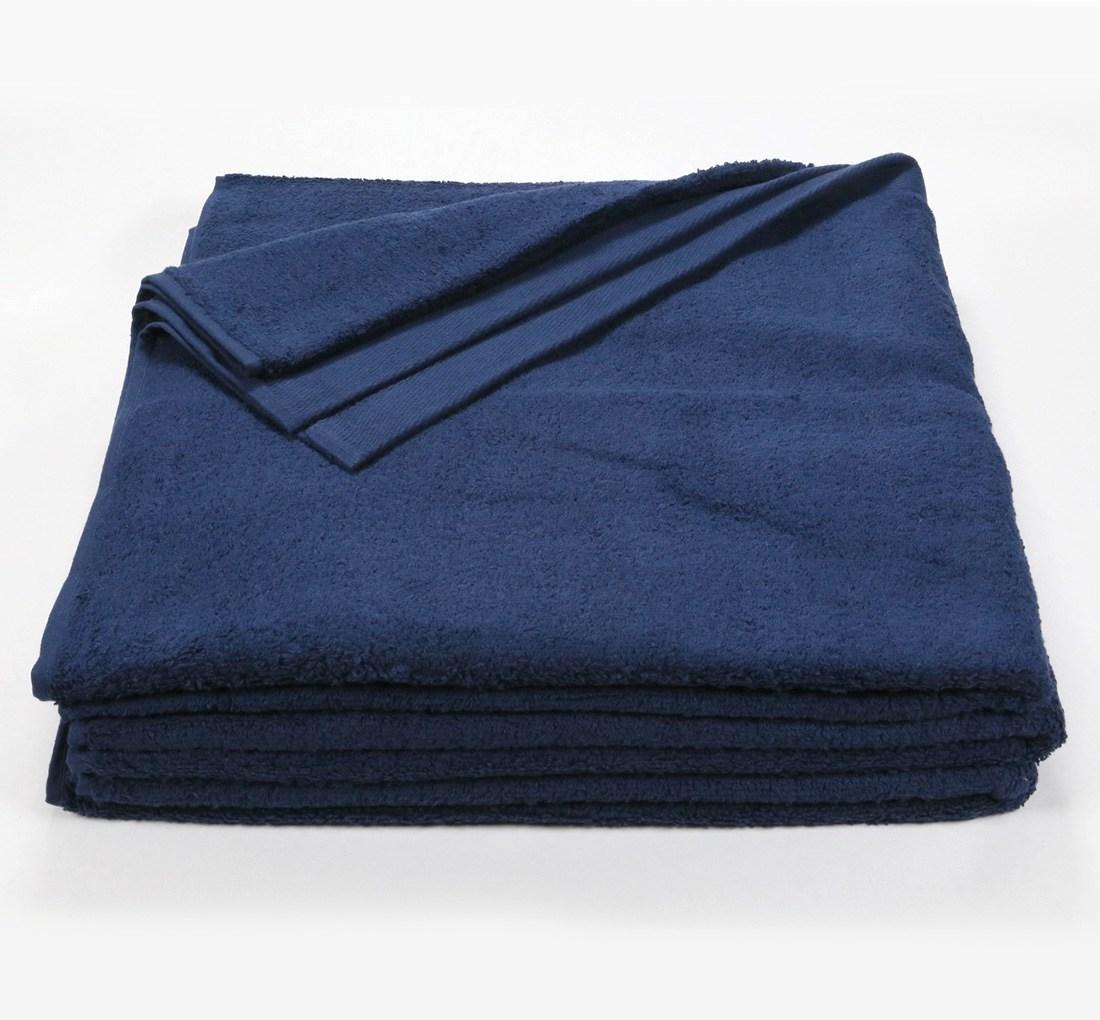 32x66 Bath Sheet Towel Royal Blue
